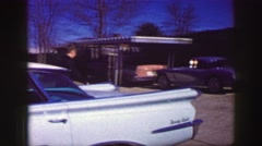 1961: wandering which of these ride will be ok to go out on a date this weekend Stock Footage