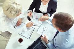 Business investment Stock Photos