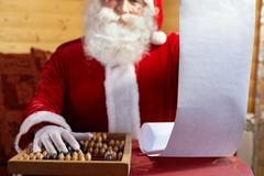 Gift list Stock Photos