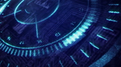 UFO Element.Head up display. Stock Footage