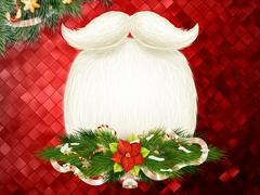 Christmas decoration Background. EPS 10 Stock Illustration