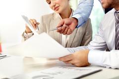 List of main tasks Stock Photos