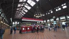 Copenhagen main railway station - Denmark Stock Footage