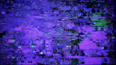 Glitchy digital noise. 4K. Stock Footage