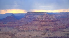 Layers of Rock  at the Grand Canyon Stock Footage