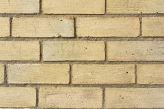 Buff coloured brick texture Stock Photos