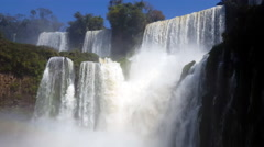 Majestic Waterfalls Plates 4K Stock Footage