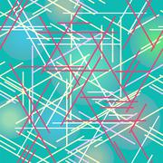 Colorful background with designed elegant abstraction. Stock Illustration