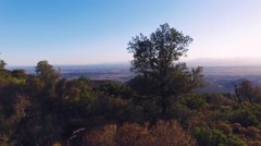 Great Sunset / Sunrise over Spain Pyrenees Mountains - stabilized Panorama shot Stock Footage