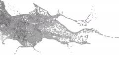 Splashing spilling grey fluid in slow motion. water Stock Footage