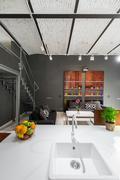 Beauty of contemporary décor Stock Photos