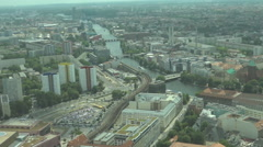 Germany, Berlin, view of the city Stock Footage