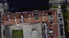 City Buildings, Overhead Aerial Shot Arkistovideo