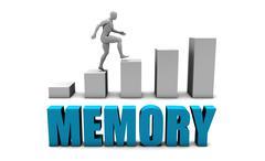 Memory Stock Illustration