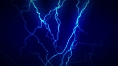 4K Electricity Blue Full Stock Footage