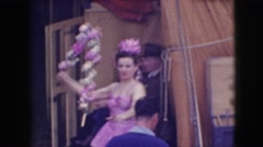 1948: a day at the side show CHICAGO, ILLINOIS Stock Footage