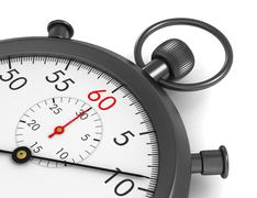 Stopwatch concept 3d illustration Piirros