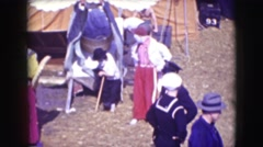 1948: behind the circus CHICAGO, ILLINOIS Stock Footage