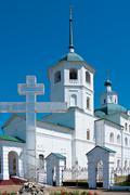 Sretensky Monastery - convent Stock Photos