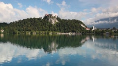 Lake Bled Stock Footage