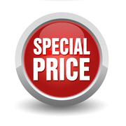 Special price concept 3d illustration Stock Illustration