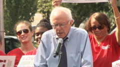 Bernie Sanders urges better healthcare  Arkistovideo