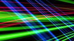 Fractal color line background Stock Footage