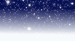 Snow flake fall Stock Footage
