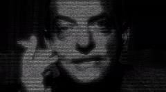 Luis Buñuel Filmmaker Portrait Stock Footage