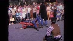 1962: magic trick did not work on this man SAN PEDRO, CALIFORNIA Stock Footage