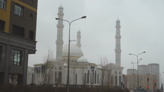 Khazret Sultan Mosque Stock Footage