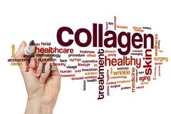 Collagen word cloud Stock Illustration