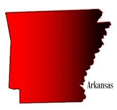 Arkansas Halftone Stock Illustration