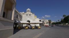 Old town in Alghero, Sardinia. Stock Footage