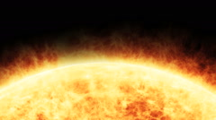 Solar Flare Stock Footage