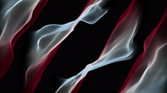 Fantastic video animation wave object in slow motion, 4096x2304 loop 4K Stock Footage