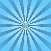 Blue rays poster ray star burst background Stock Illustration