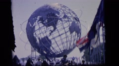 1964: family day at the world fair CAMDEN, NEW JERSEY Stock Footage