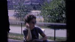 1964: when smoking was innocent CAMDEN, NEW JERSEY Stock Footage