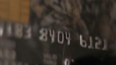 Credit Card swipe through PIN Terminal Arkistovideo
