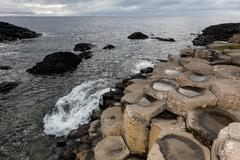 Giants Causeway, Northern Ireland Stock Photos