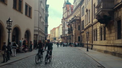 City Dresden Germany Stock Footage
