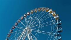 Ferris Wheel Cannes Stock Footage