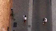 Cittadella - Medieval gate Stock Footage