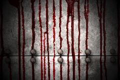 Bloody wall Stock Illustration