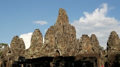 TIMELAPSE Clouds over Angkor Thom,Siem Reap,Cambodia Stock Footage