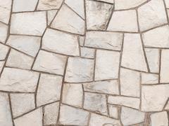 Gray wall decorative sandstone Stock Photos