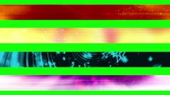 Lower third twenty three GBS Green Screen L3rds Stock Footage
