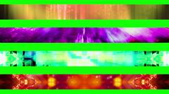 Lower third twenty six GBS Green Screen L3rds Stock Footage
