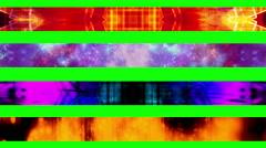 Lower third twenty nine GBS Green Screen L3rds Stock Footage